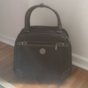 CHAPS travel bag with telescoping handle